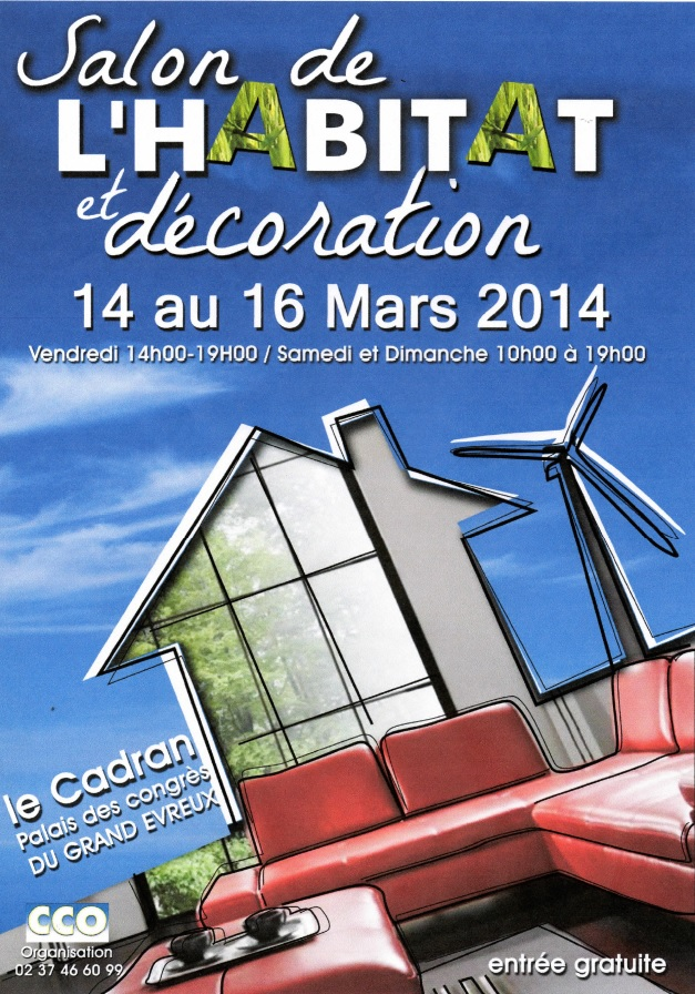 Salon de l 39 habitat evreux news for Salon de l habitat brive