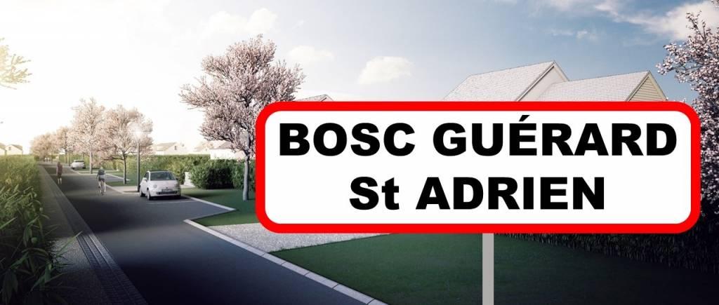lancement Bosc guérard saint adrien altitude lotissement terrain a batir seine maritime