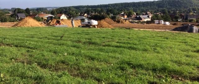 avanement travaux lotissement acquigny le vallon des faulx terrain a batir altitude lotissement 27 76